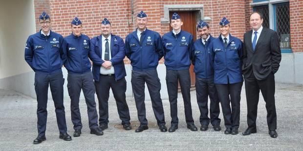 Six policiers ont prêté serment - La DH
