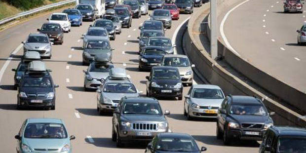 Carambolage sur le ring intérieur de Bruxelles: circulation ralentie - La DH
