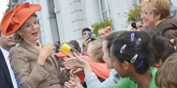 Les souverains sont arrivés au Théâtre royal de Namur - La DH