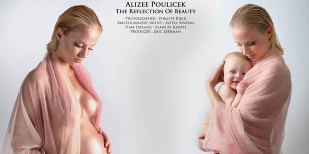 Alizée Poulicek, l'avant-après - La DH
