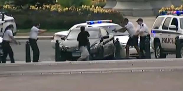 La vidéo de la course-poursuite devant la Maison Blanche - La DH