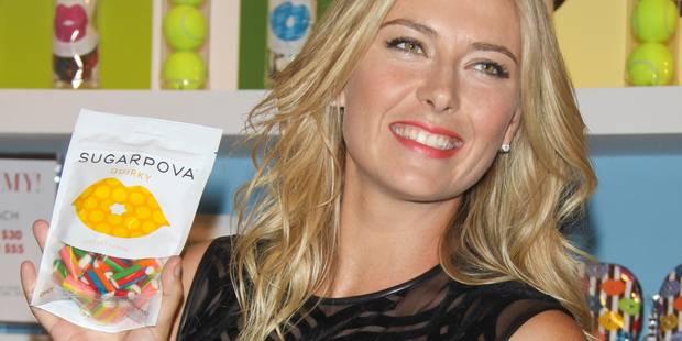 Sharapova fait sauter la banque à défaut de gagner des matches - La DH