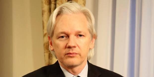 """Assange: """"Ma famille est menacée de mort"""" - La DH"""