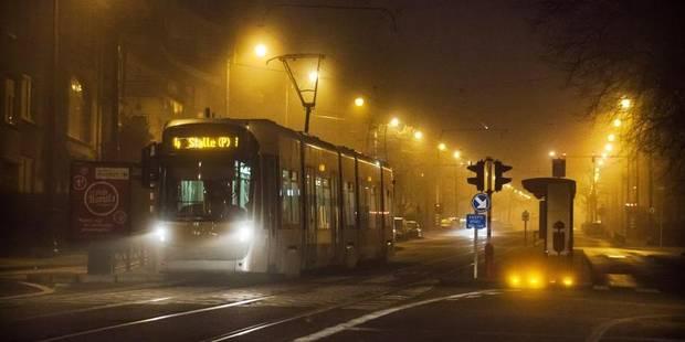 Une conductrice blessée dans la collision avec un tram à Evere - La DH