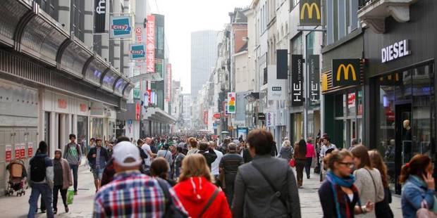 La rue Neuve à Bruxelles, 34e artère la plus chère pour les locations commerciales - La DH