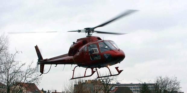 Des voleurs pincés grâce à l'hélicoptère - La DH