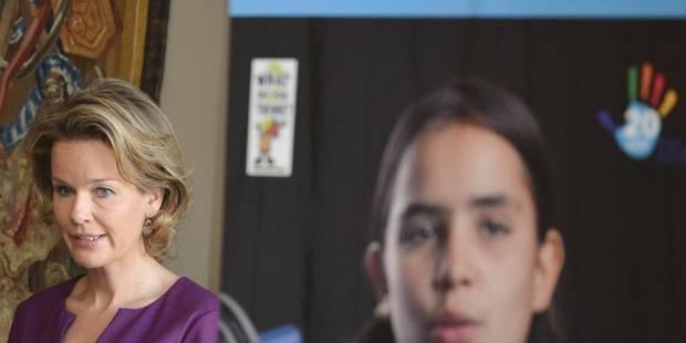 La reine Mathilde veut un enseignement de qualité pour chaque enfant - La DH