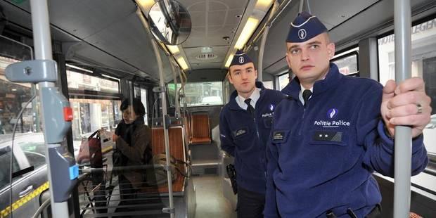 240 policiers en plus pour les bus et les trams - La DH