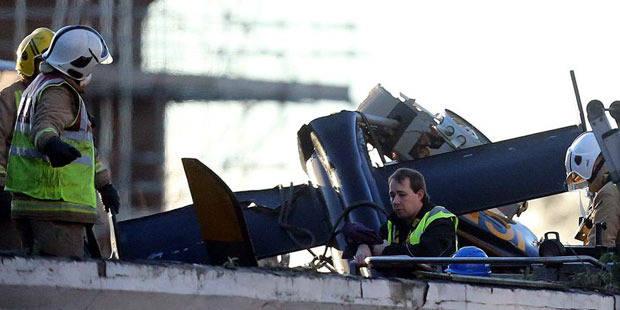 Accident d'hélicoptère à Glasgow: les recherches de victimes se poursuivent - La DH
