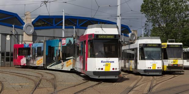 Trois nouvelles lignes de tram vont voir le jour à Bruxelles - La DH