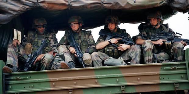 Près d'un millier de soldats français en Centrafrique - La DH