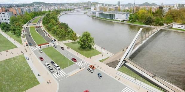 Voici les nouveaux quais de Liège - La DH