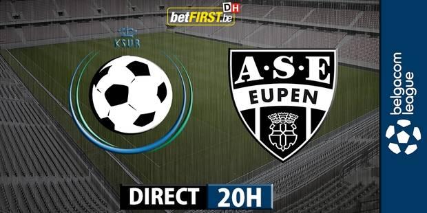Une fin de match surréaliste entre Roulers et Eupen (2-2) - La DH