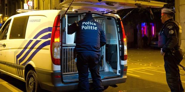 Trois policiers empechent un meurtre à Evere - La DH