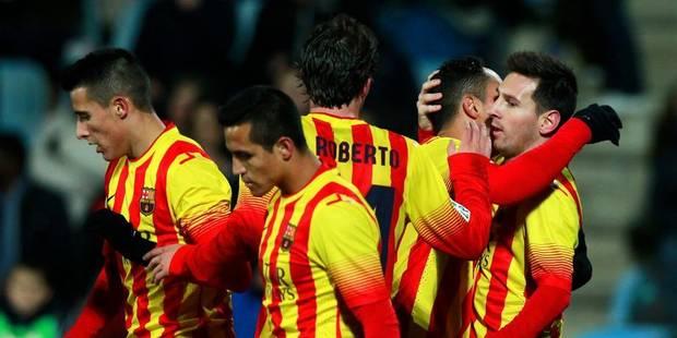 Coupe du Roi: Le Barça passe, Messi brille - La DH