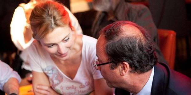 """Quand Julie Gayet jouait au """"poker menteur"""" sur RTL - La DH"""