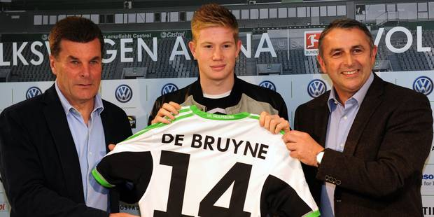 Wolfsburg a officiellement présenté Kevin De Bruyne - La DH
