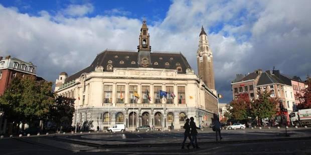 Un lifting pour l'Hôtel de Ville de Charleroi - La DH