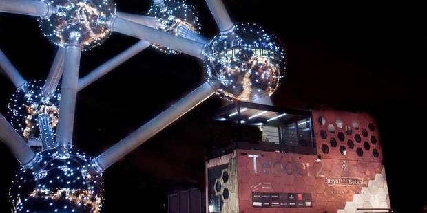 Un hôtel éphémère au pied de l'Atomium - La DH