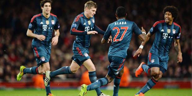 Le Bayern fait la leçon à Arsenal (0-2) - La DH