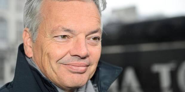 """Reynders: """"Milquet et Onkelinx feraient bien de venir une fois en Flandre"""" - La DH"""