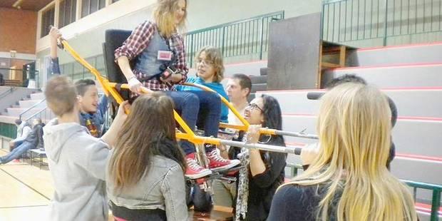 Châtelet: tous rassemblés autour du handicap - La DH