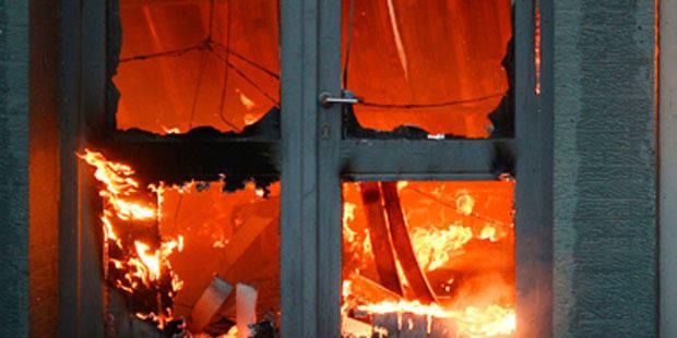 Mamie sauvée des flammes - La DH