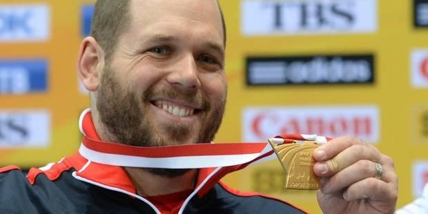 Mondiaux d'athlétisme: l'Américain Whiting conserve son titre au poids - La DH