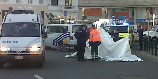 Un piéton décède en traversant place Louise - La DH