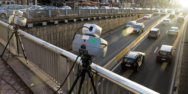 La police bruxelloise a dressé 57.000 PV en 2013 pour des infractions routières - La DH