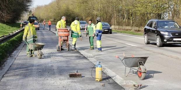 Le mauvais état des routes a coûté 2,5 millions € en 2013 - La DH