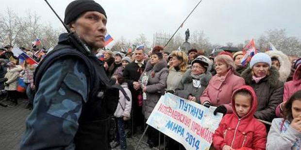 La Crimée vote massivement son rattachement à la Russie - La DH