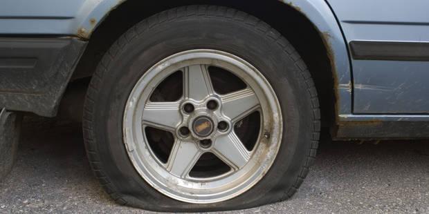 Il crève 40 pneus en 24 heures - La DH