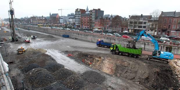 Soupçon de dumping social sur le chantier de la gare de Mons - La DH