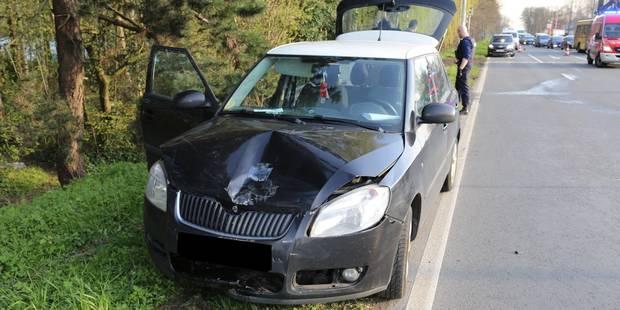 Gosselies: un motard violemment percuté sur la N5 - La DH