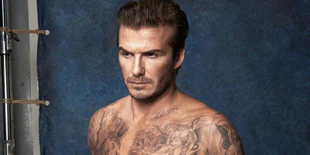 Et voici les maillots... David Beckham - La DH
