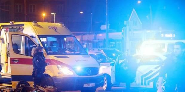 Deux policiers blessés à la suite d'une rixe entre bandes rivales - La DH