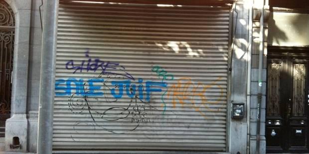Tag antisémite sur un magasin - La DH