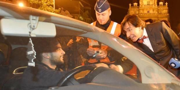 Elio Di Rupo passe une nuit blanche aux côtés des travailleurs de nuit - La DH