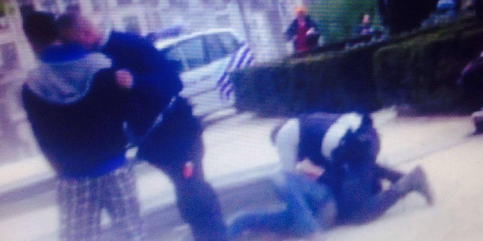 Bruxelles: nouvelle vidéo de l'agression policière - La DH