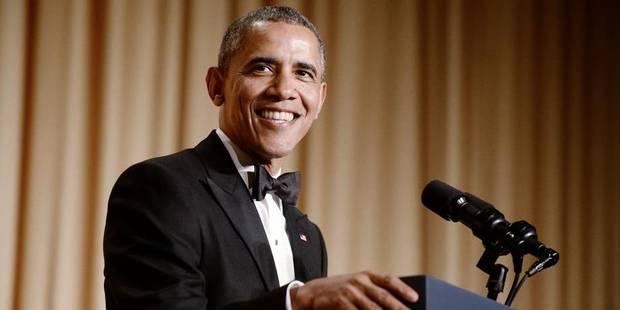 Quand Obama plaisante avec les journalistes de Washington... - La DH