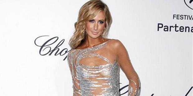 Une tenue très (très) transparente à Cannes - La DH