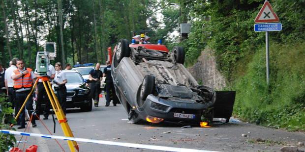 Walcourt: Un jeune homme de 34 ans s'est tué dans un accident de voiture - La DH