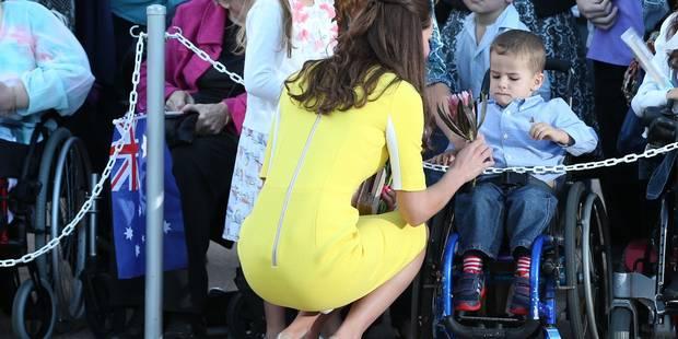 Kate Middleton assure ses arrières - La DH