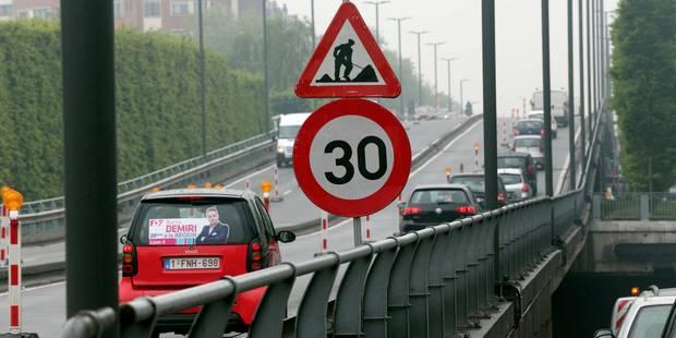 Le viaduc Reyers et le tunnel Cinquantenaire à Bruxelles fermés cet été - La DH