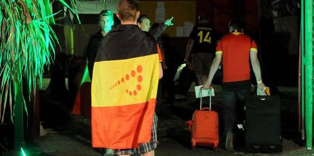 Belgique-Algérie: bagarres à Nivelles, policier blessé à Hannut - La DH