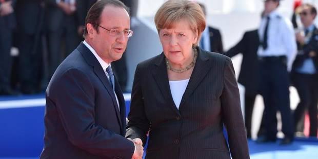 """Hollande et Merkel ont demandé à Poutine de """"favoriser la reprise des négociations"""" - La DH"""