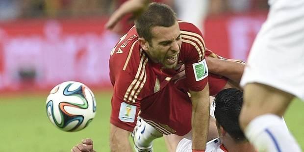 Jordi Alba menace un journaliste - La DH