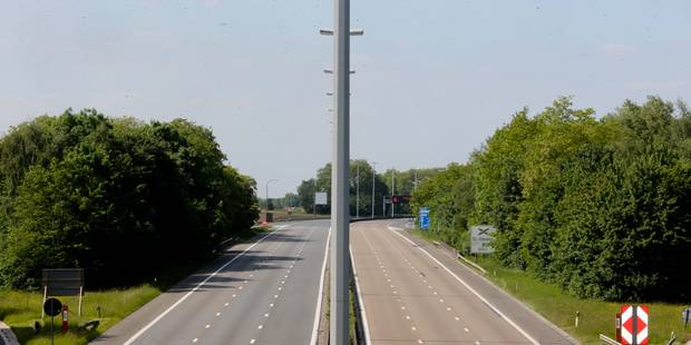 Autoroute inaccessible entre Hensies et Saint-Ghislain - La DH
