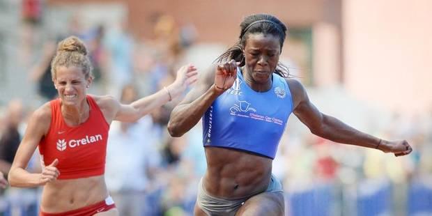 Meeting de Nivelles: Anne Zagré devance la championne olympique Sally Pearson - La DH